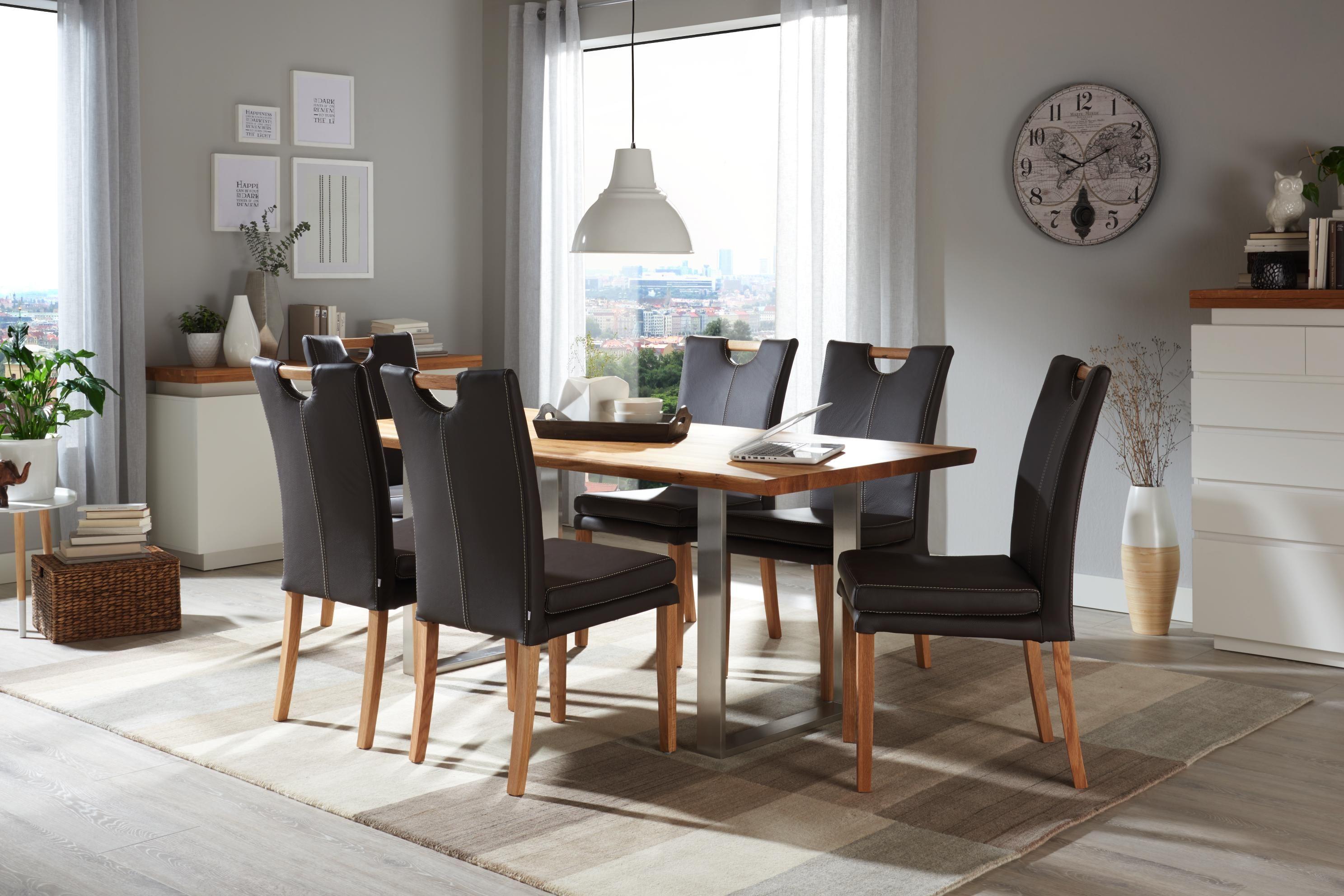 esstisch in holz 180 90 75 cm esszimmer pinterest esszimmer tisch und esstisch. Black Bedroom Furniture Sets. Home Design Ideas