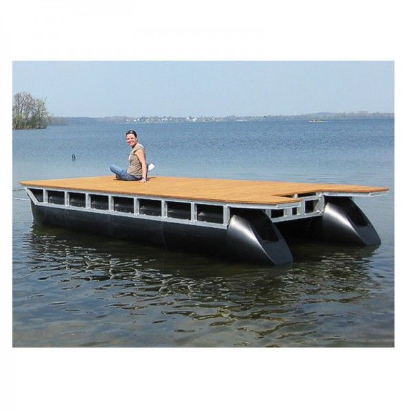 Skräddarsy din Bryggbåt baserad på flytponton | AlfaBryggan AB