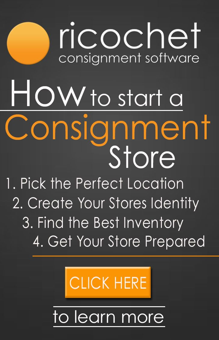 How to set up a consignment shop
