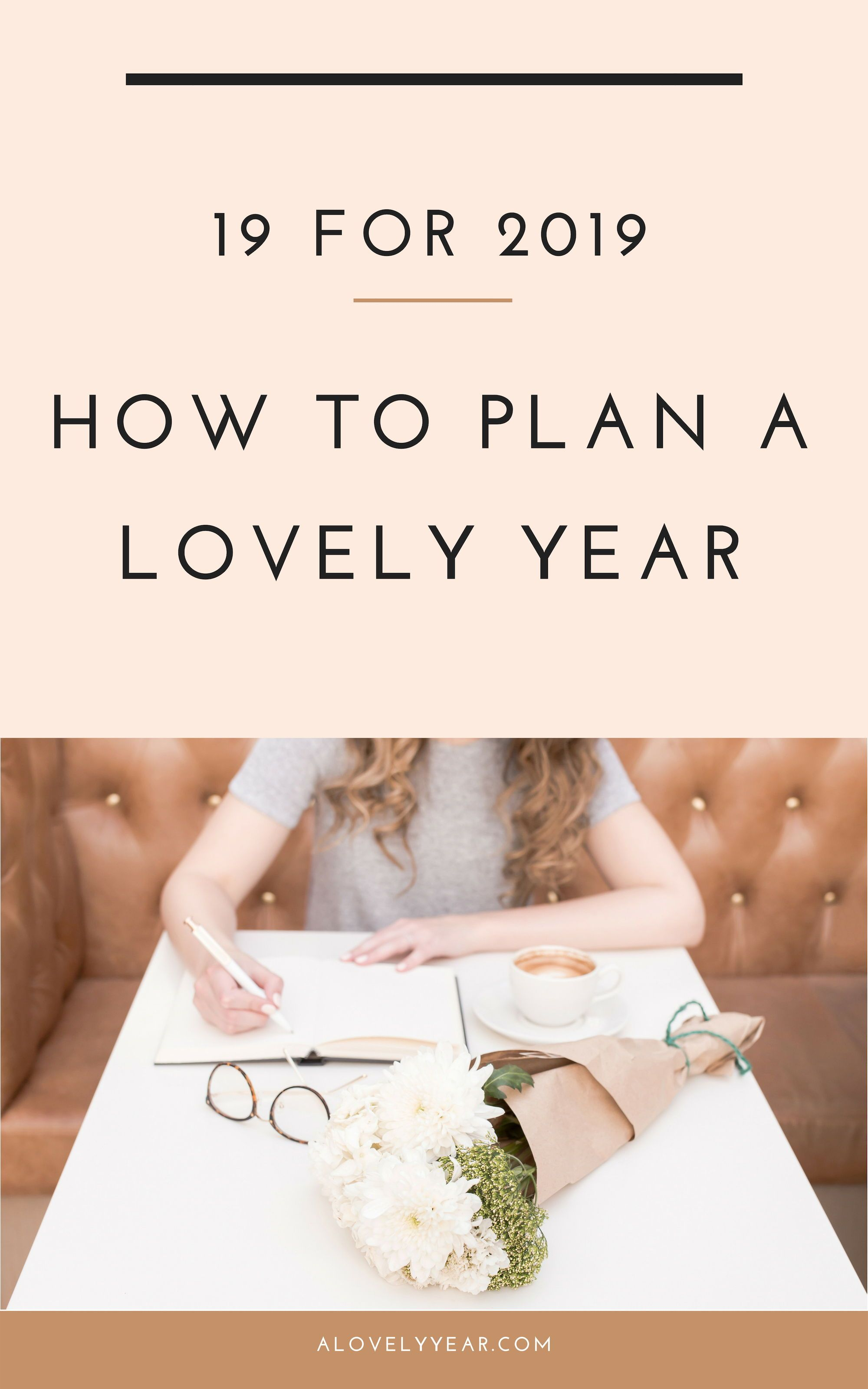Plan A Lovely Year With 19 Activities For