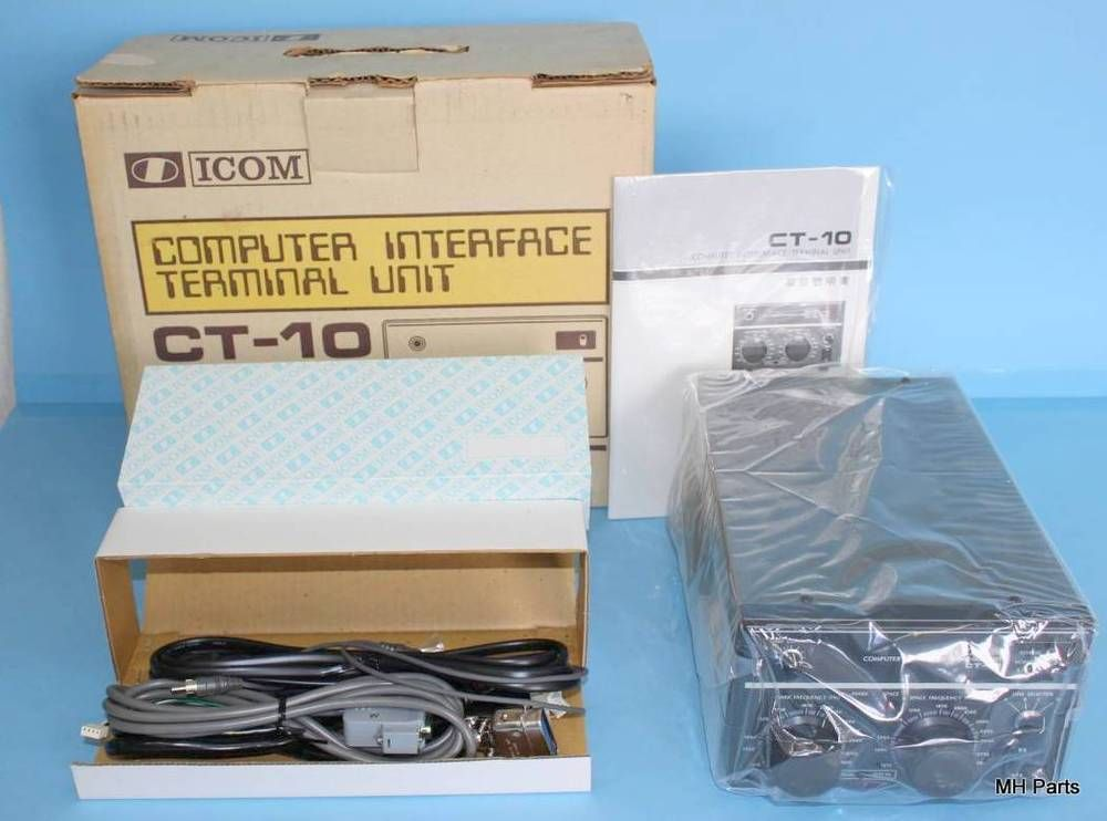 ICOM Scarce Interface Terminal Unit CT-10 *Pristine #Icom