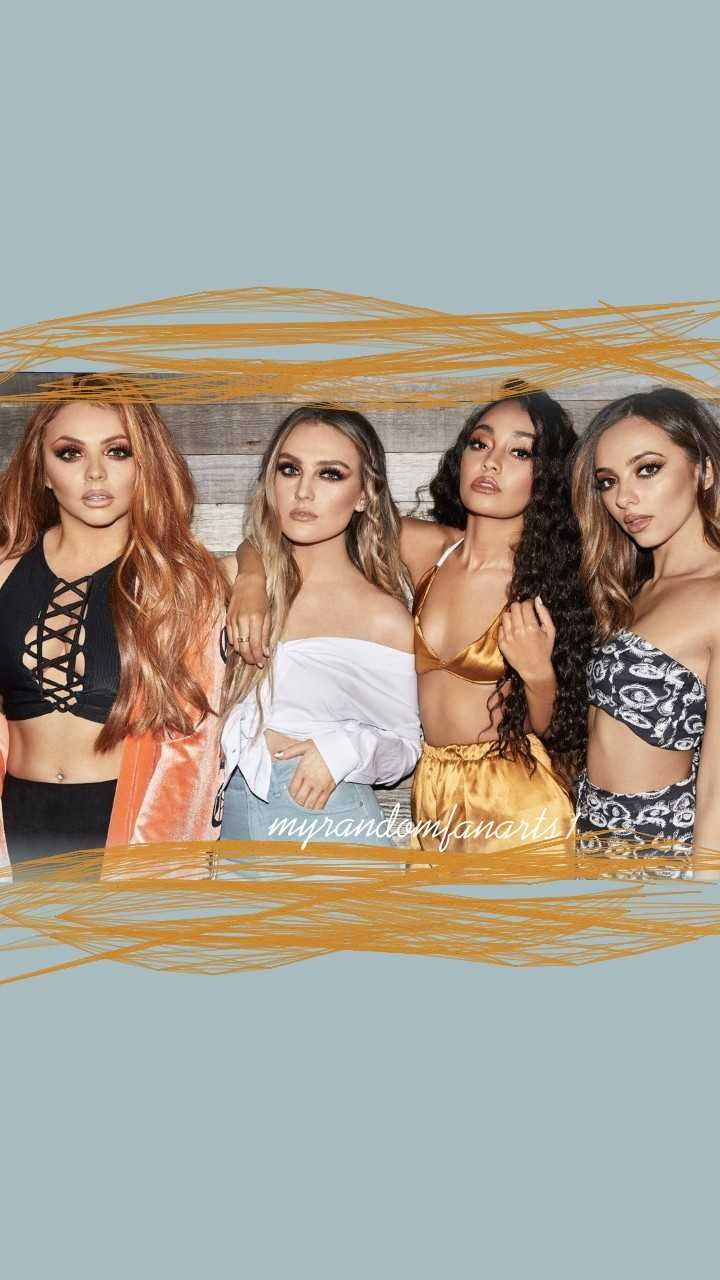Little mix wallpaper. @myrandomfanarts1 on ig | Little Mix ...