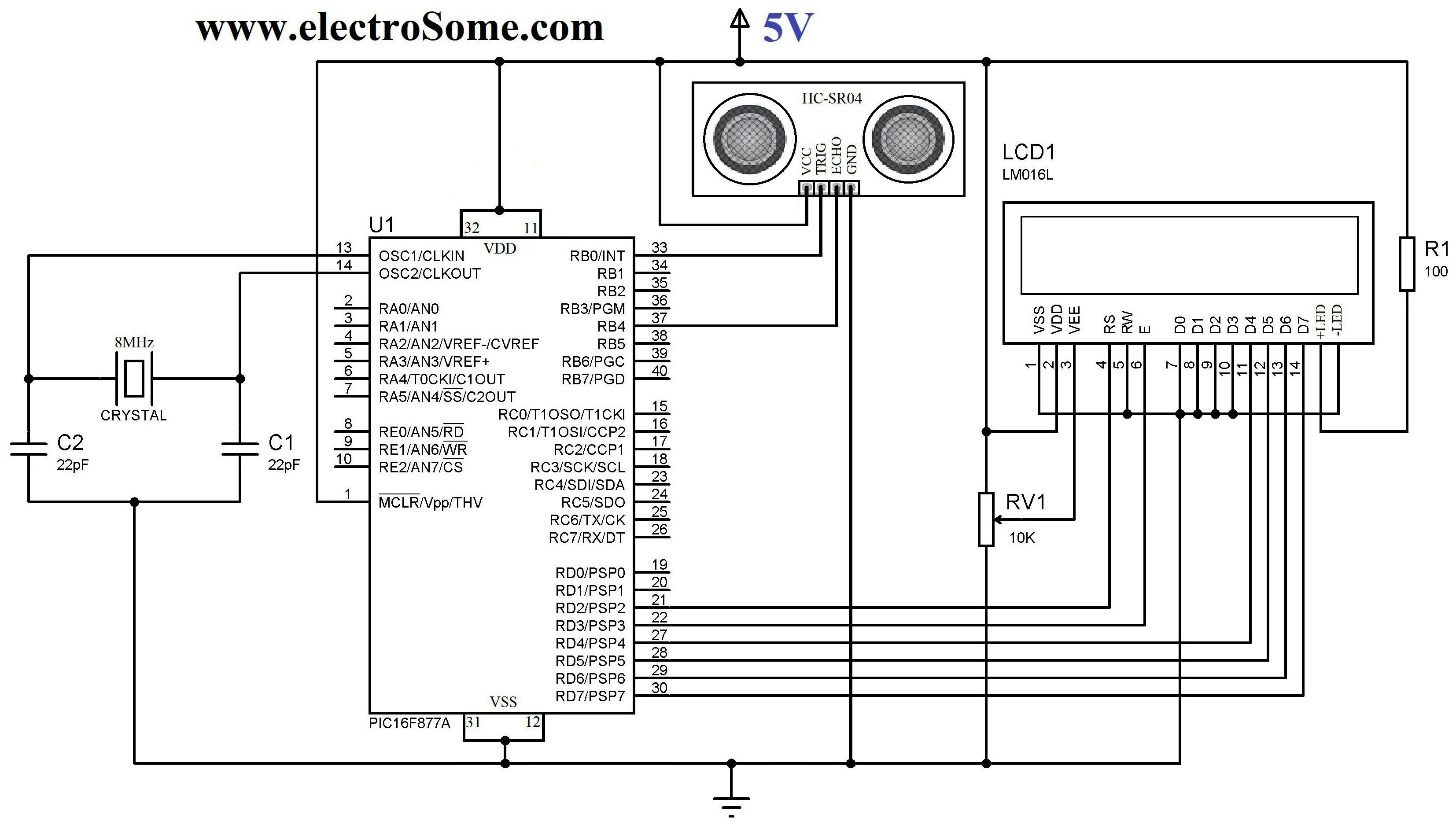 Circuit Diagram For Usb Controller