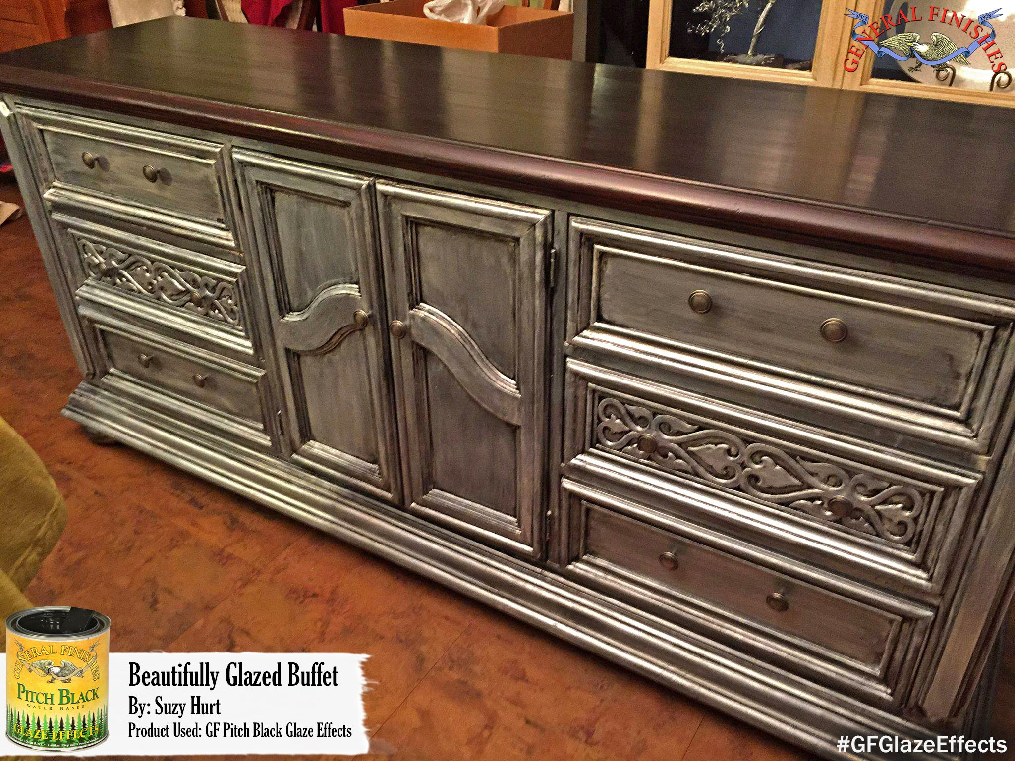 Pin By General Finishes On Decorative Finishes Chalk Paint Finishes Painted Furniture Glaze