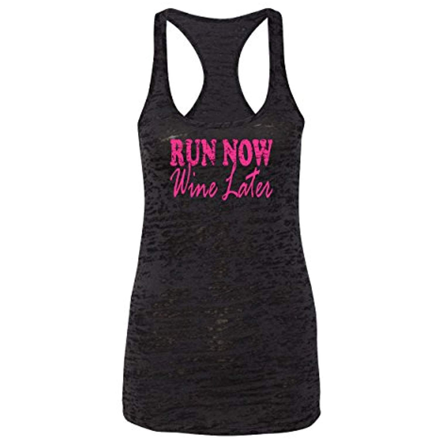 f1006e1ad142a Orange Arrow Womens Workout Tanks - Run Now Wine Later - Crossfit Clothes  by Echona Apparel    Learn more by visiting the image link.