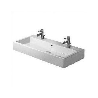Gentil Duravit Vero Bathroom Sink. Single Sink, Double Faucet And Capacity.
