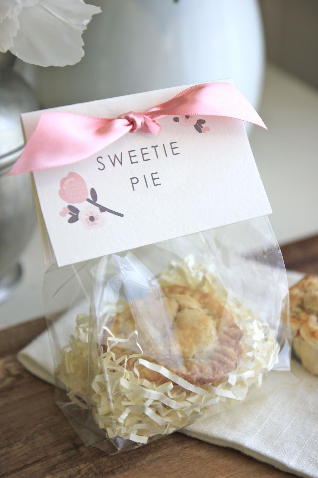 Last weekend I hosted a baby shower at my house. I made these mini ...