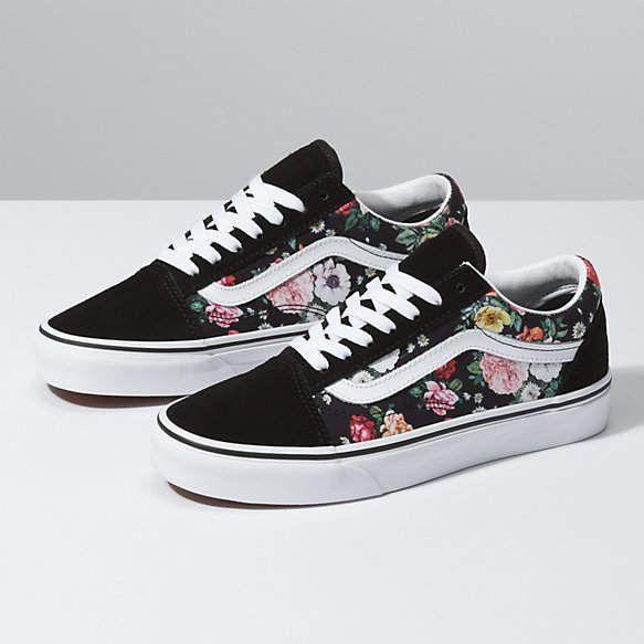 vans scarpe garden floral
