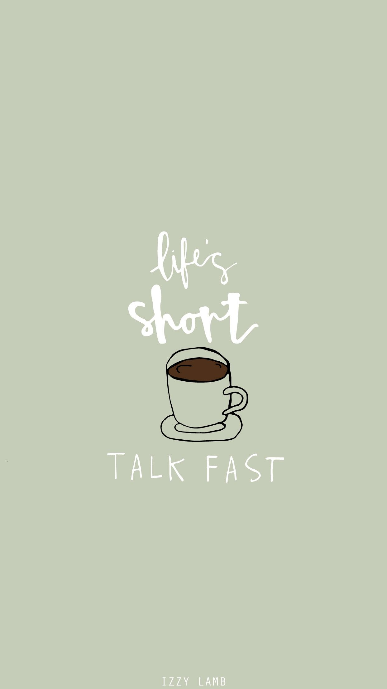 Love coffee Wallpapers For Iphone : I love Gilmore girls and how accurate and realistic it is :) So True Pinterest Girl ...