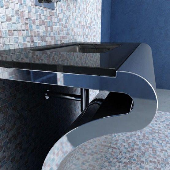 Modern Bathroom Vanities Venti Glass Bathing Pinterest