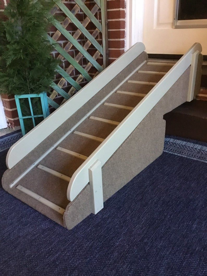 OscarScottish Terrier Two Step Indoor Ramp Raised Side