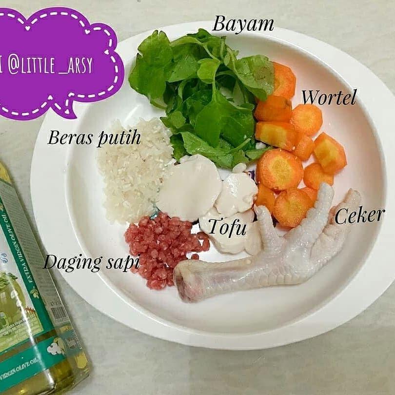 Mpasi 4 Bintang Little Arsy Hari Ke 3 Baha Daging Sapi Makanan Daging