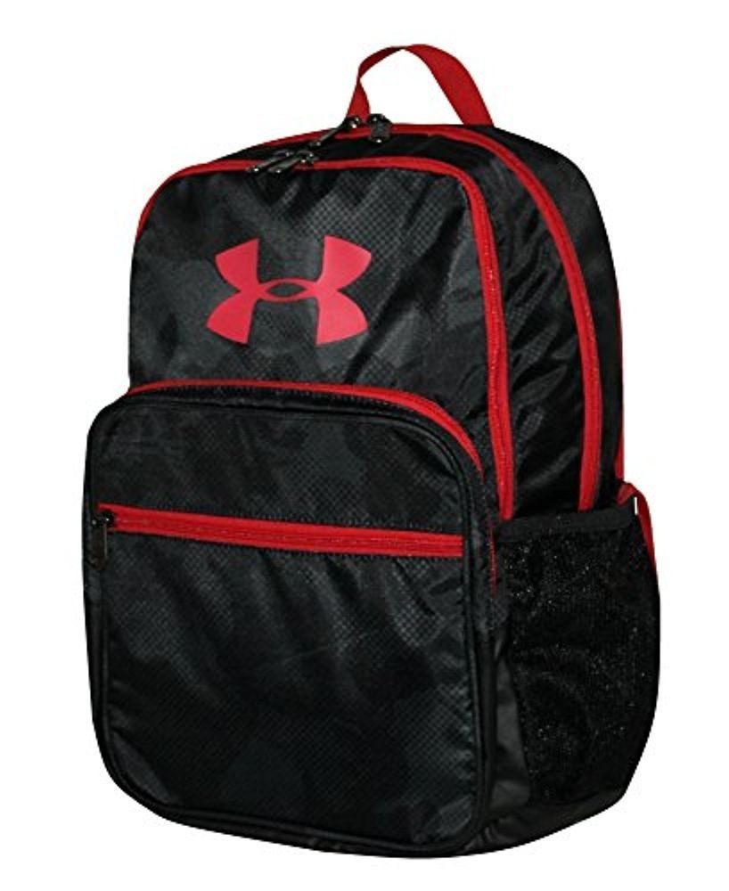 64319a60ff11 Under Armour HOF Youth Boys Athletic Multi purpose School Backpack (Black  red)  Underarmour  Backpack  fashion  kids  backtoschool  style  shopping   soccer ...