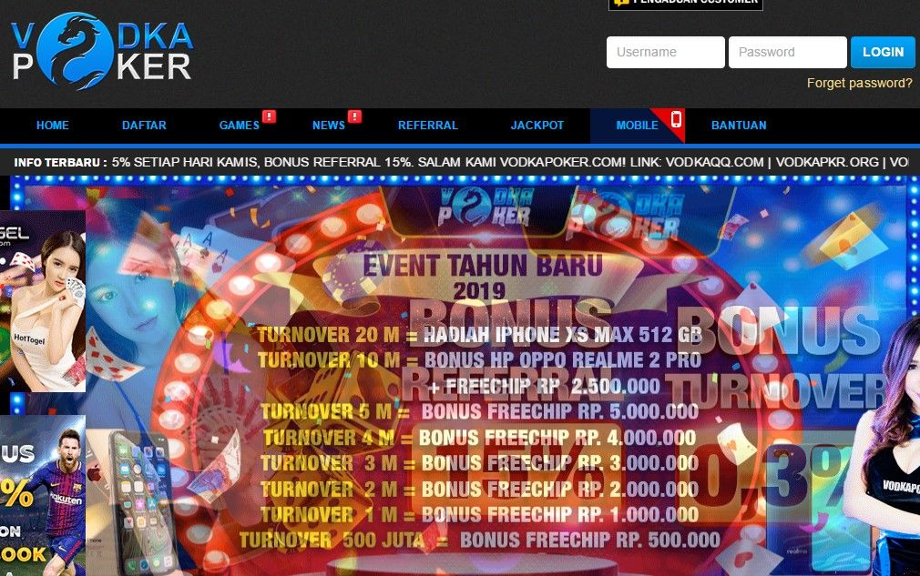 Vodkapoker – Situs IDN Poker Terpercaya