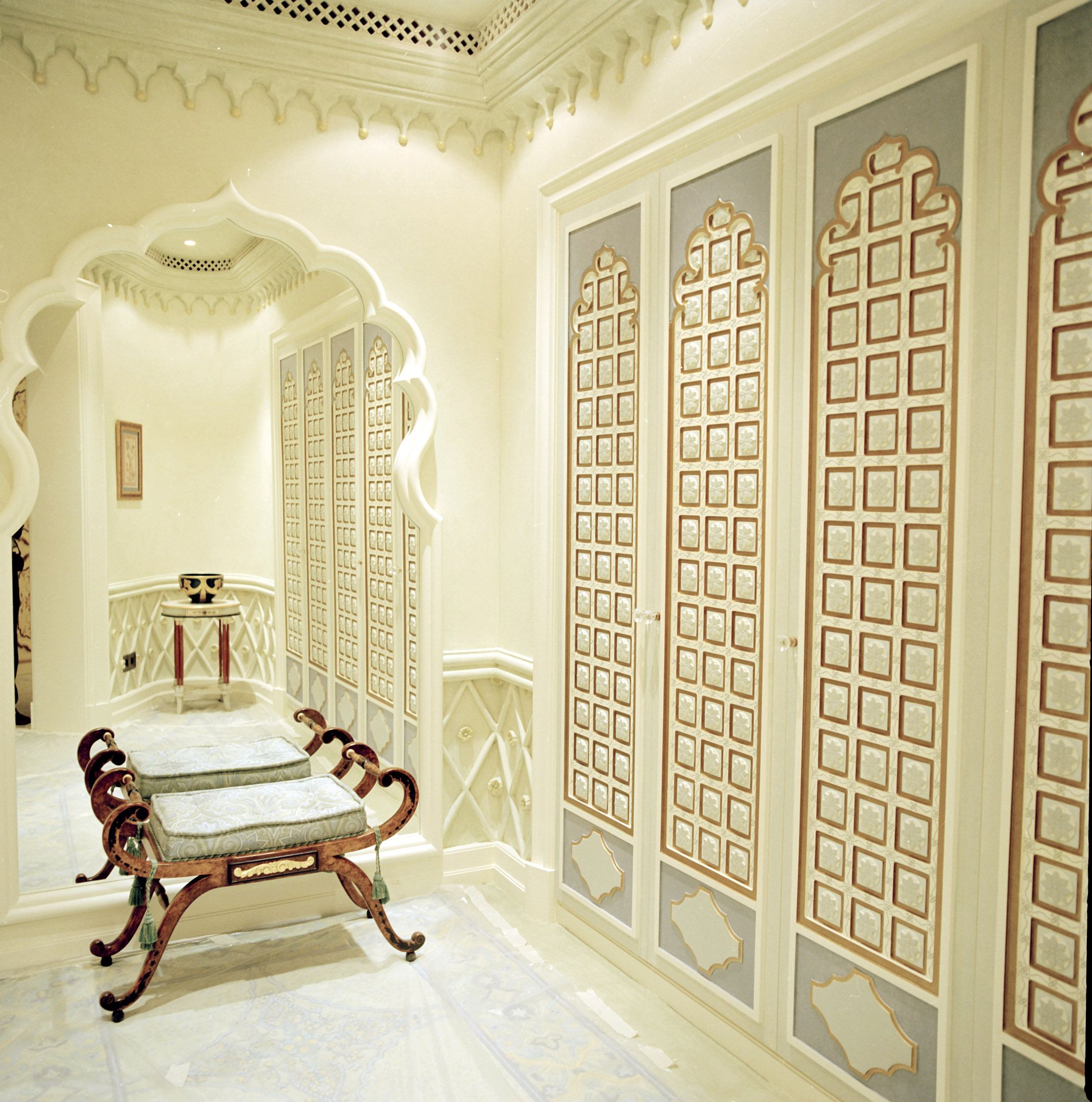 Dressing room detail, Arabic elements. Design by Areen Design www ...