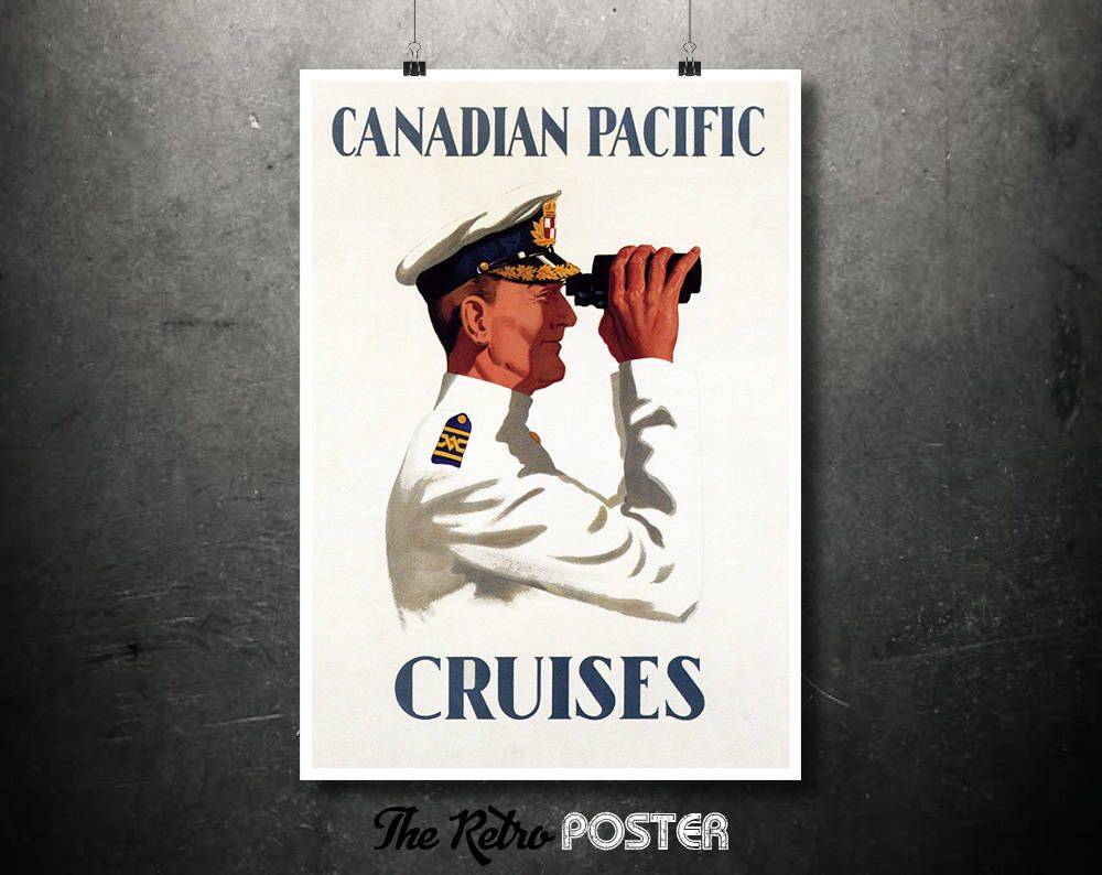 travel canadian pacific cruises captain with binoculars