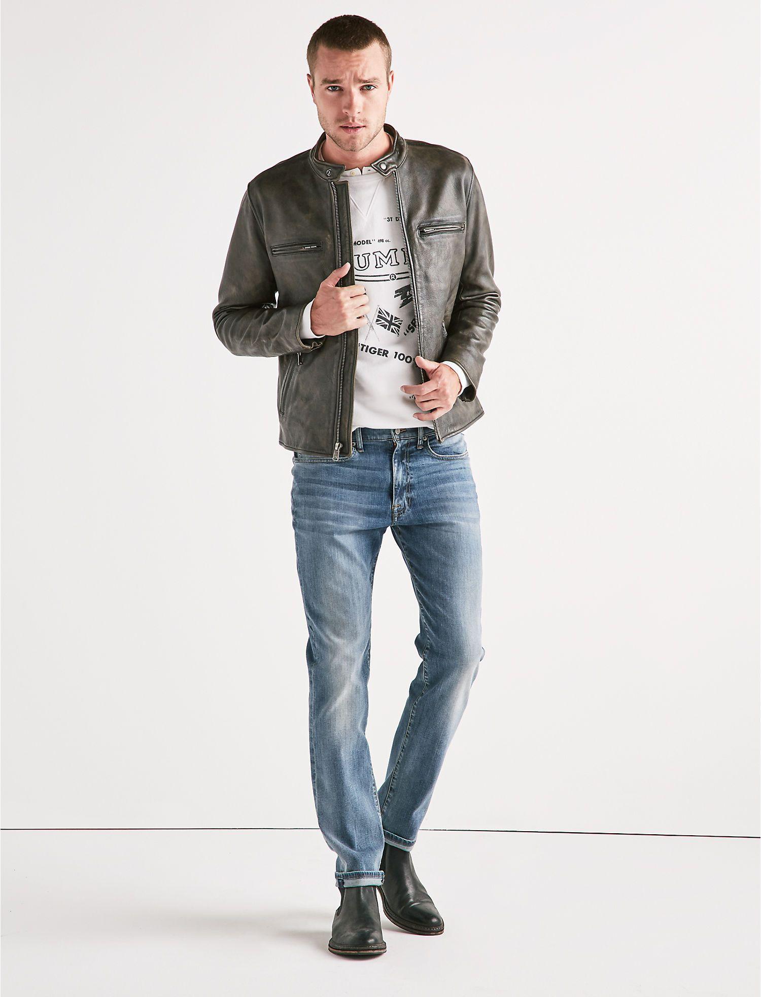 Leather Bonneville Jacket Lucky Brand Leather Jacket Men Jackets Designer Leather Jackets [ 1966 x 1500 Pixel ]