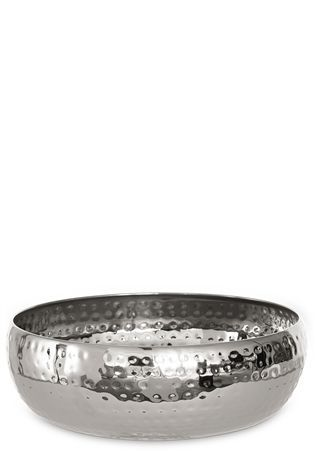 Silver Hammered Fruit Bowl From The Next Uk Online
