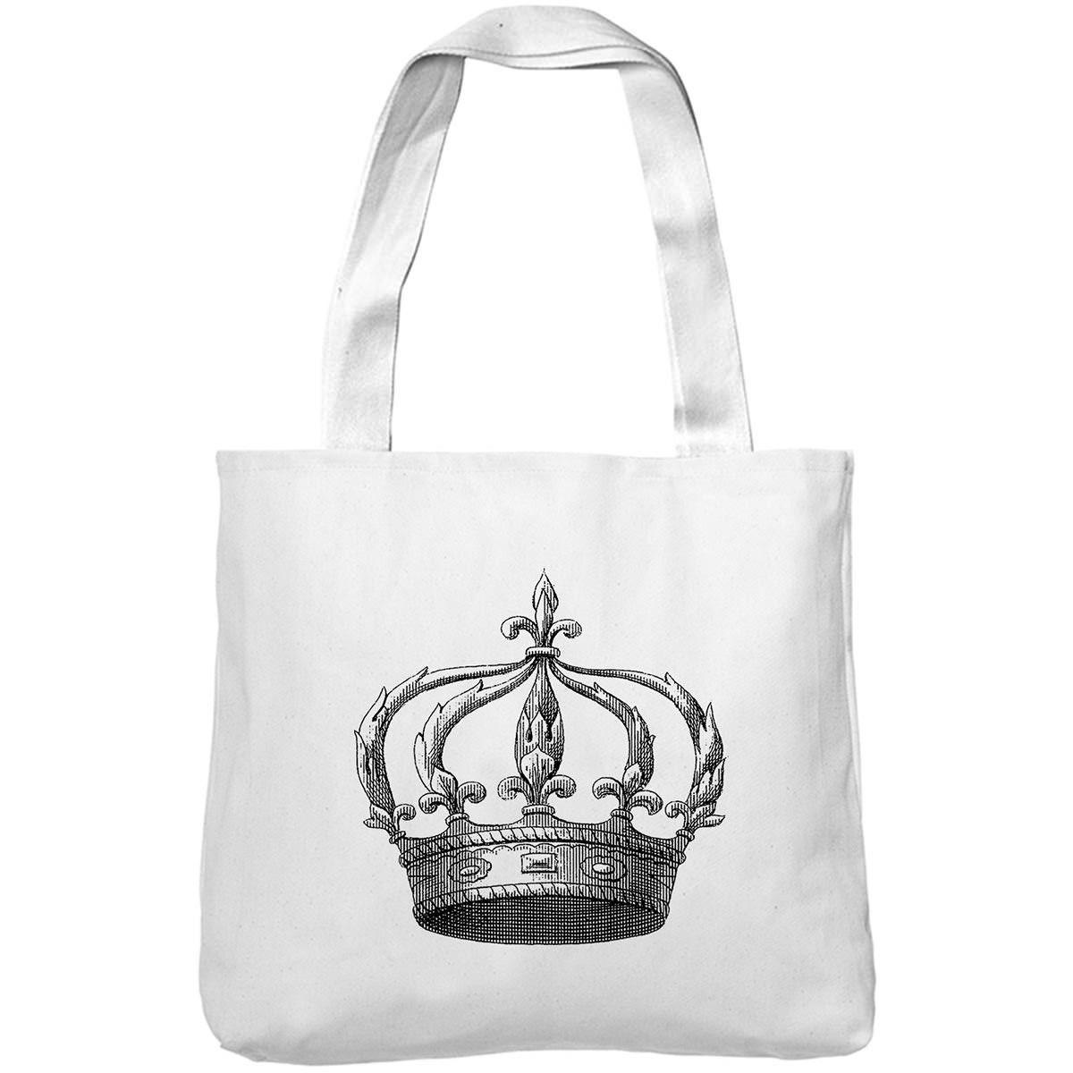 Mintage Kings Crown Museum Tote Bag