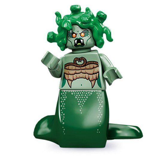Lego 71001 Series 10 Minifigure Medusa