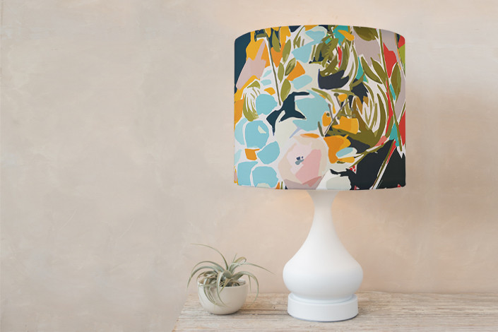 Thrive Drum Lampshade by Jess Franks Minted (With images