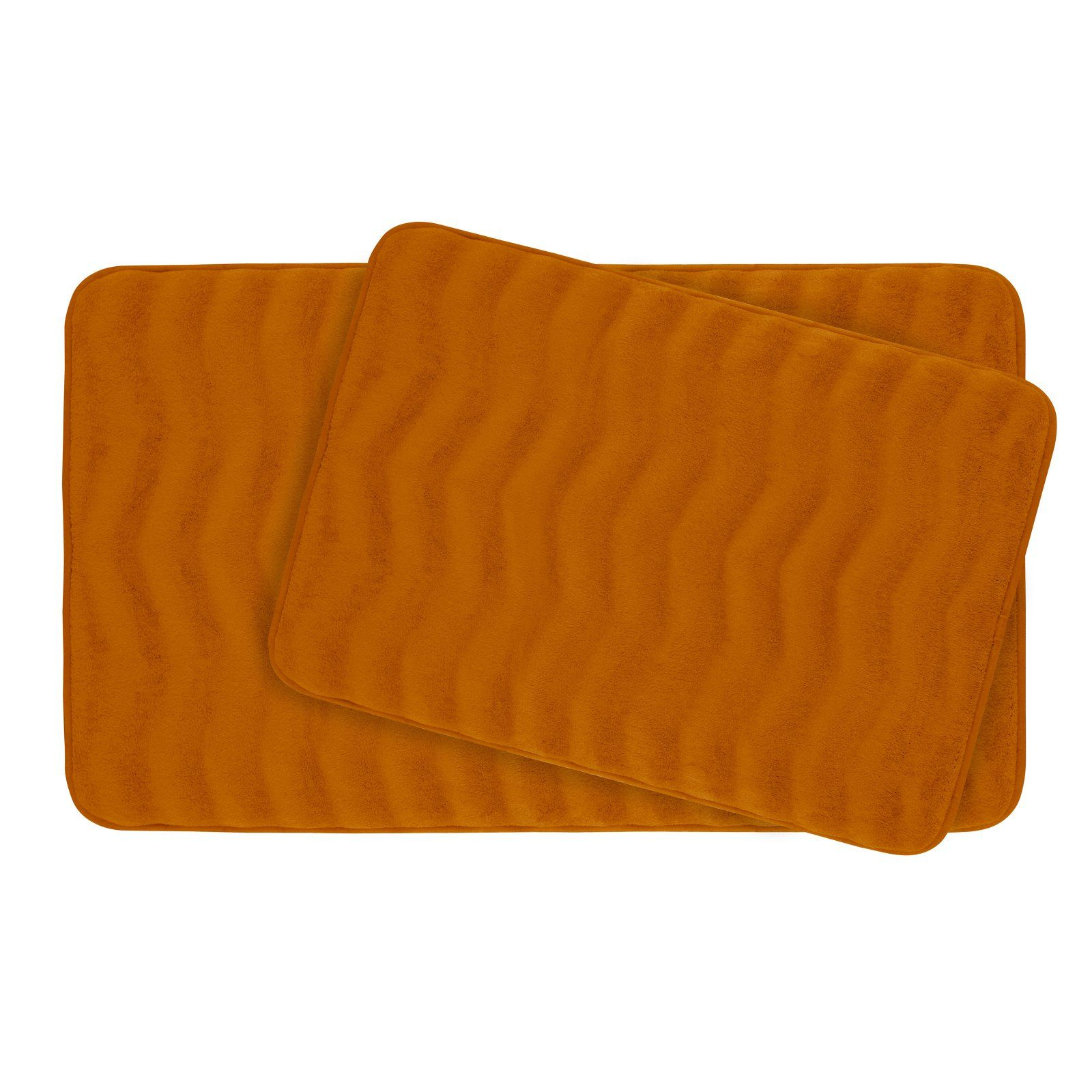 Bounce Comfort Waves Premium Extra Thick Memory Foam Bath Mat