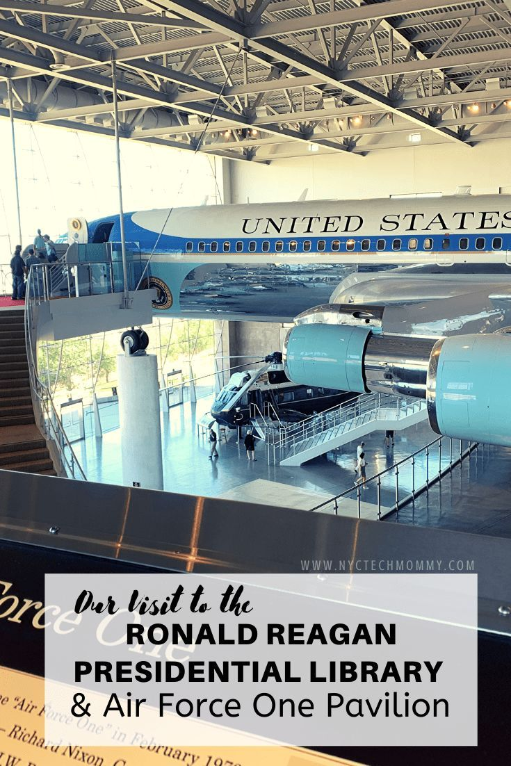 Our Visit to the Ronald Reagan Presidential Library and