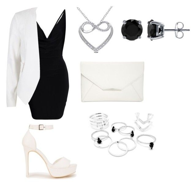 """""""Untitled #98"""" by angela-cabanog ❤ liked on Polyvore featuring River Island, Miadora, BERRICLE, Style & Co. and Nly Shoes"""
