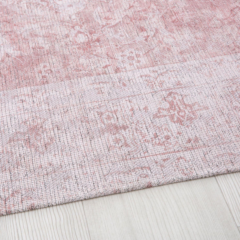 Roze geweven tapijt 140x200 | Maisons du Monde | Alfombra