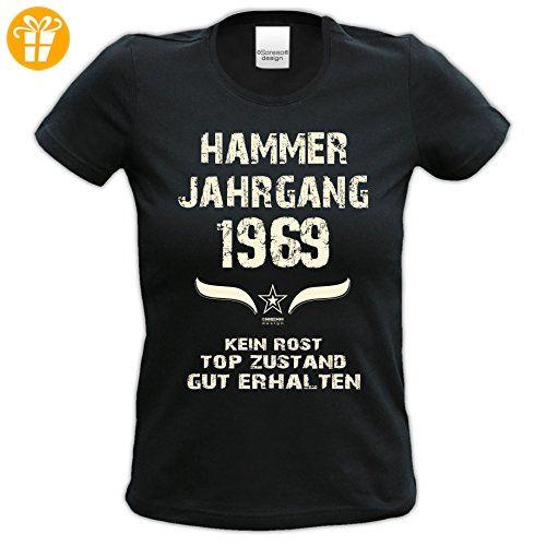 Damen Kurzarm T-Shirt Girlieshirt :-: Geburtstagsgeschenk Geschenkidee für  Sie zum 48.