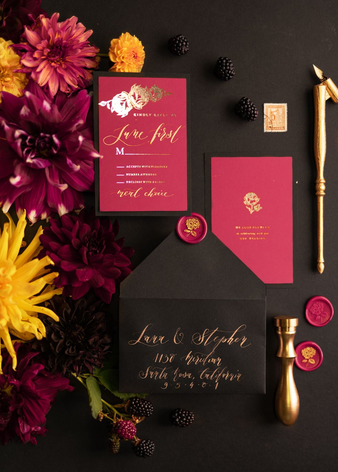 WEDDING INVITATIONS calligraphy | Wedding decor ideas | Pinterest ...