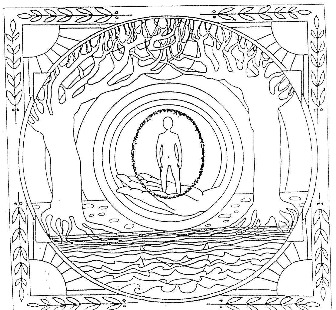 mandala geant  Coloriage Mandala Gratuit A Imprimer - AZ