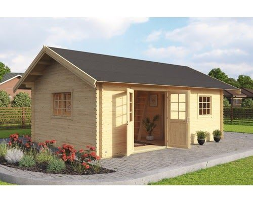 Gartenhaus Lasita Colorado Mit Fussboden Und Dachschindeln 575x390 Cm Natur Obi Holz Gartenhaus Bozen C Bxt 4 Brick Exterior House Outdoor Life House Exterior