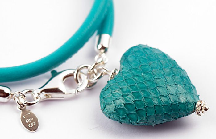 Detail Armband aus Nappaleder, FS2014.