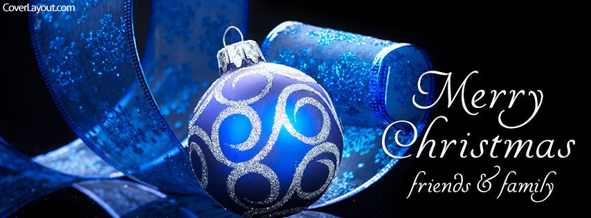 Merry Christmas Friends And Family Facebook Cover Coverlayout Com