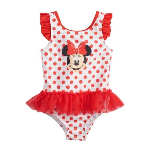 Okie Dokie One Piece Swimsuit Toddler Girls Size 3T New