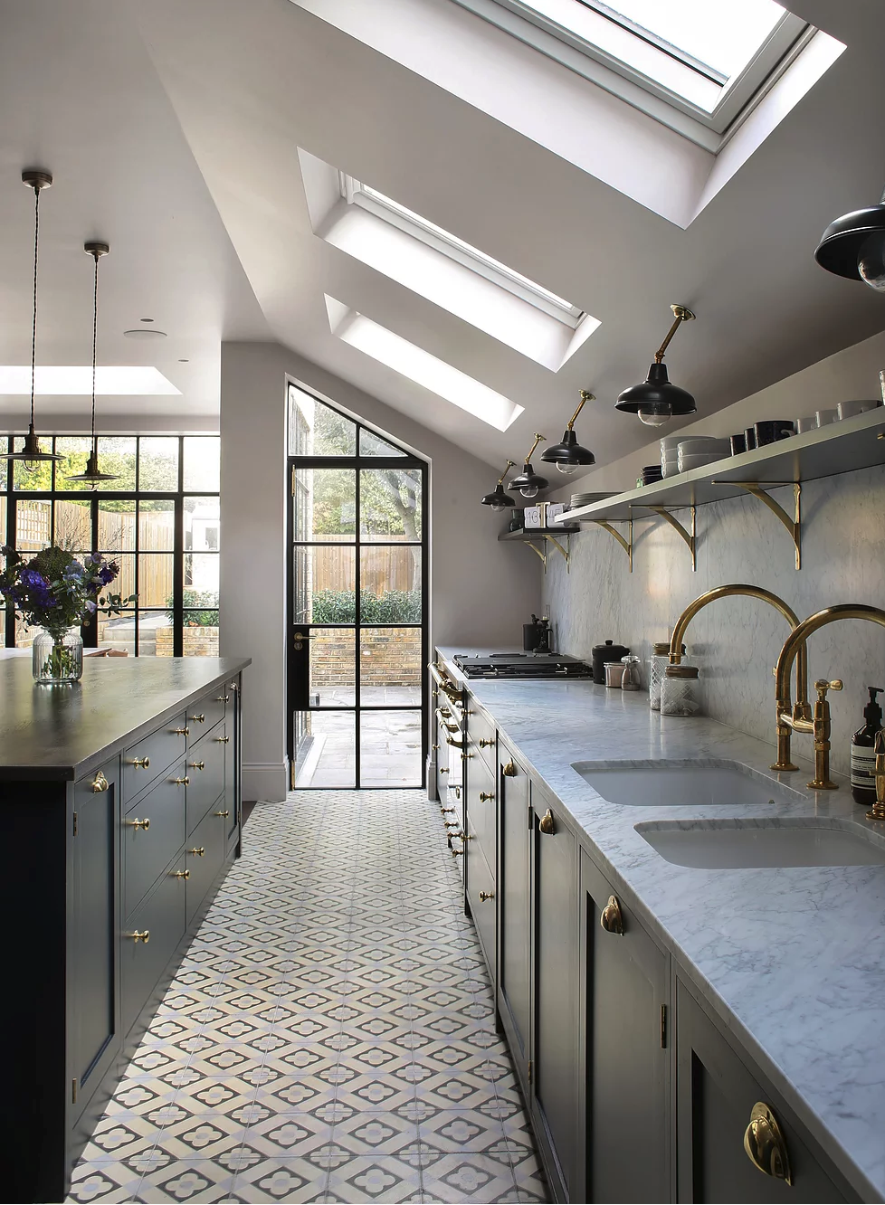 Kitchen Inspiration From Across The Pond Kitchen Ceiling Lights