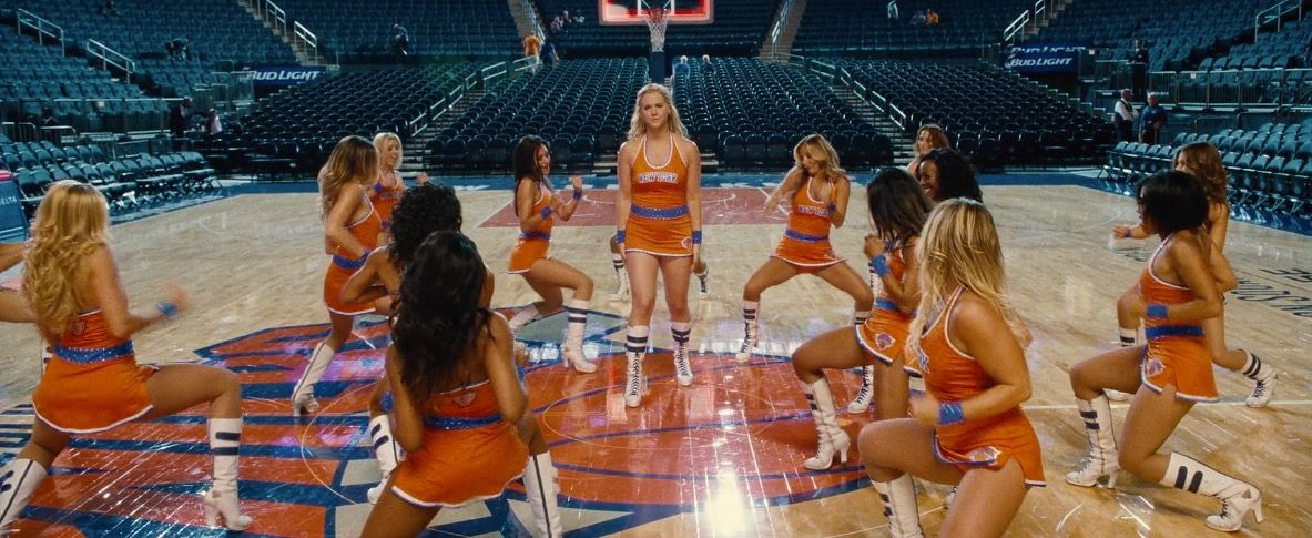 New York Knicks in TRAINWRECK (2015) @knicksofficial