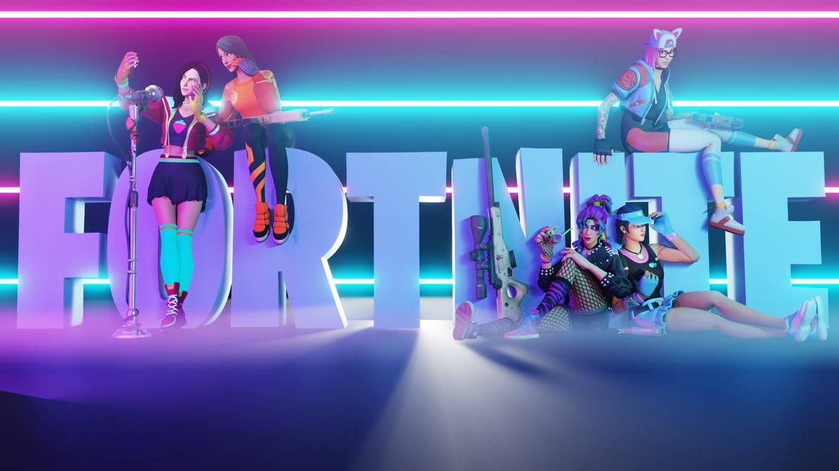 The Crew A Fortnite Group Render By Wastingnight Gaming Wallpapers Best Gaming Wallpapers Game Wallpaper Iphone