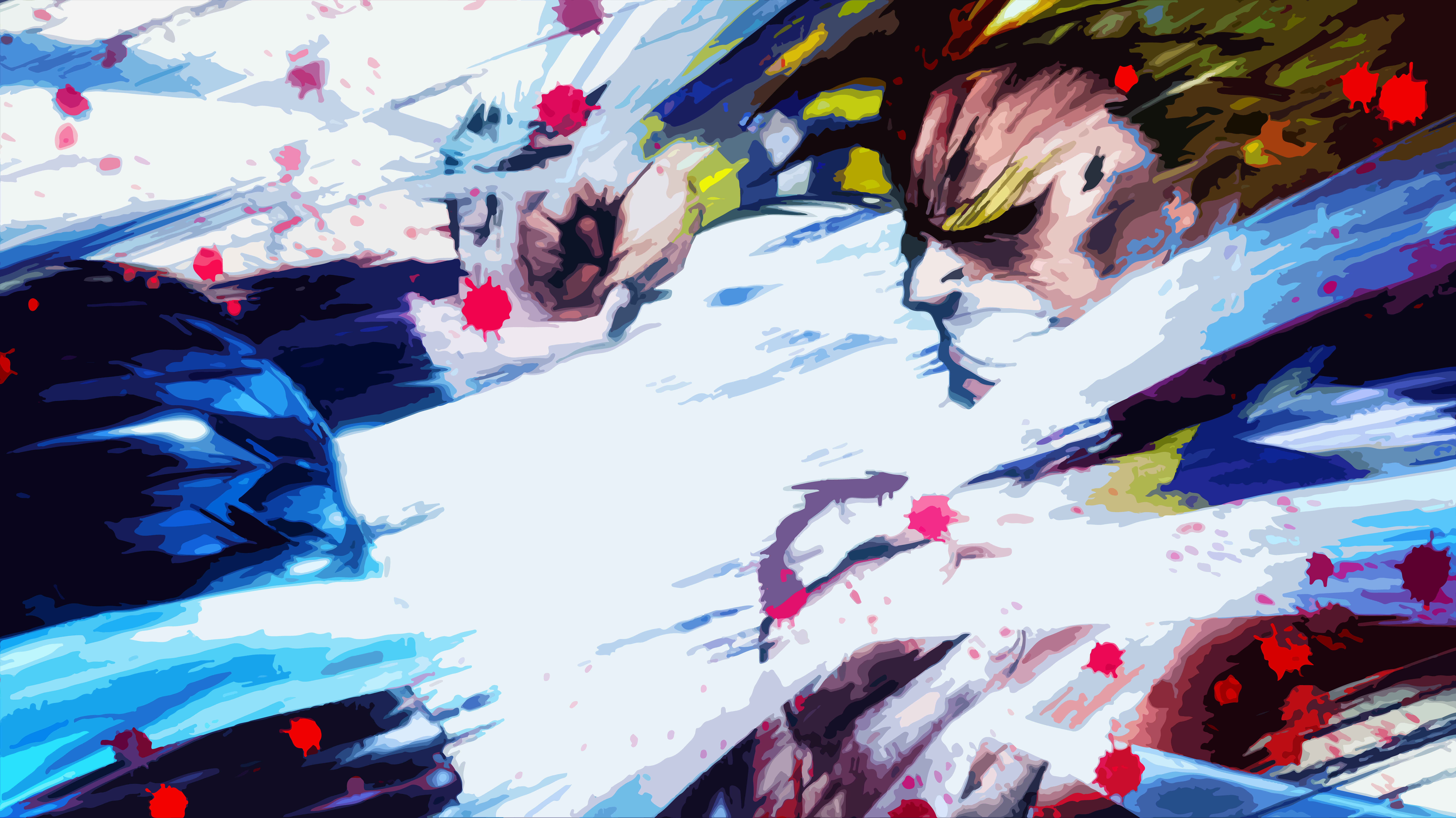10000x5622 All Might Vs All For One Vector Remastered Wallpaper Wallpaper Background Image View Download Com My Hero Academia Episodes Anime Fight My Hero