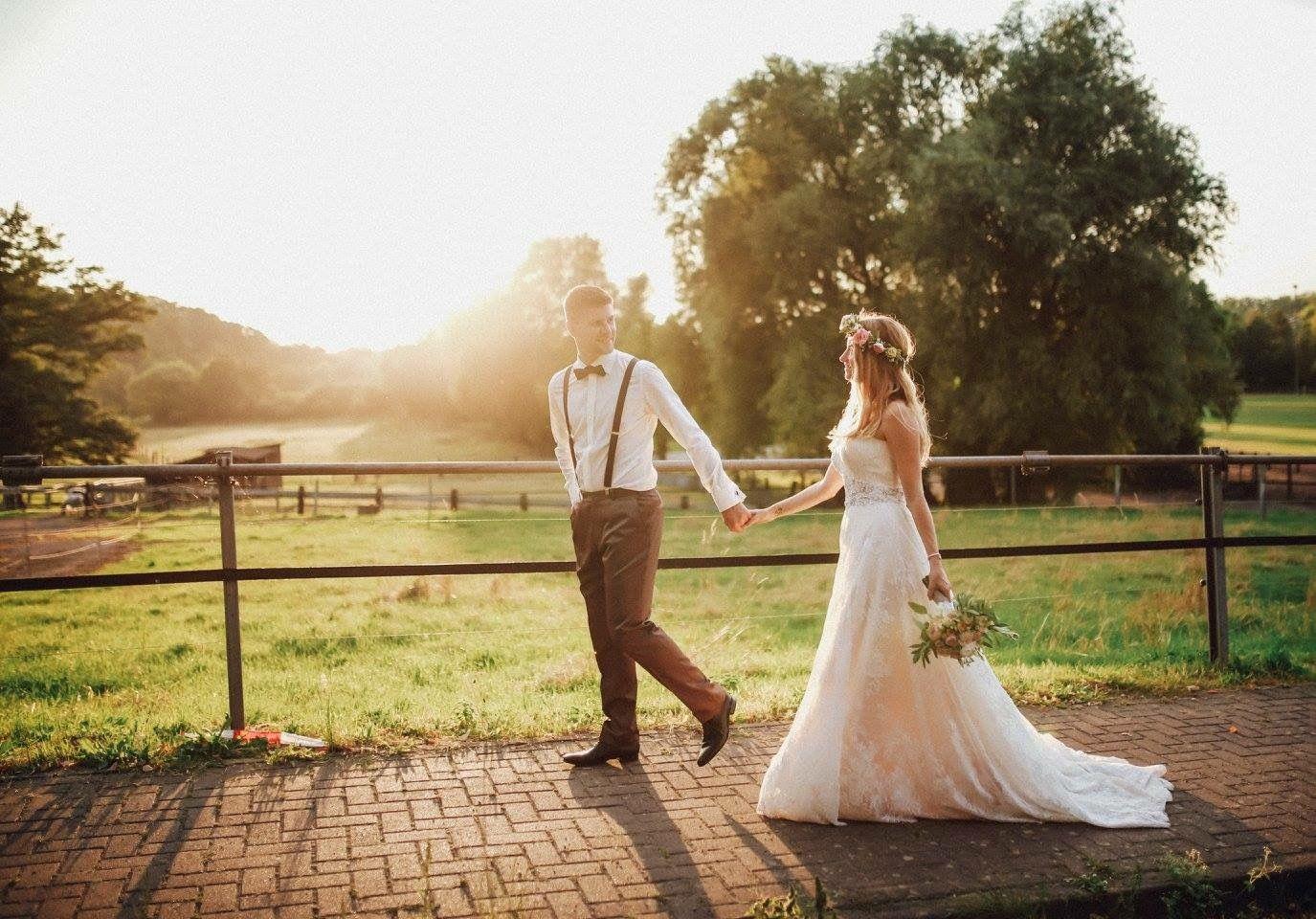 Rustikale DIY/Vintage/Scheunen- Hochzeit • Fotografie: Das ...