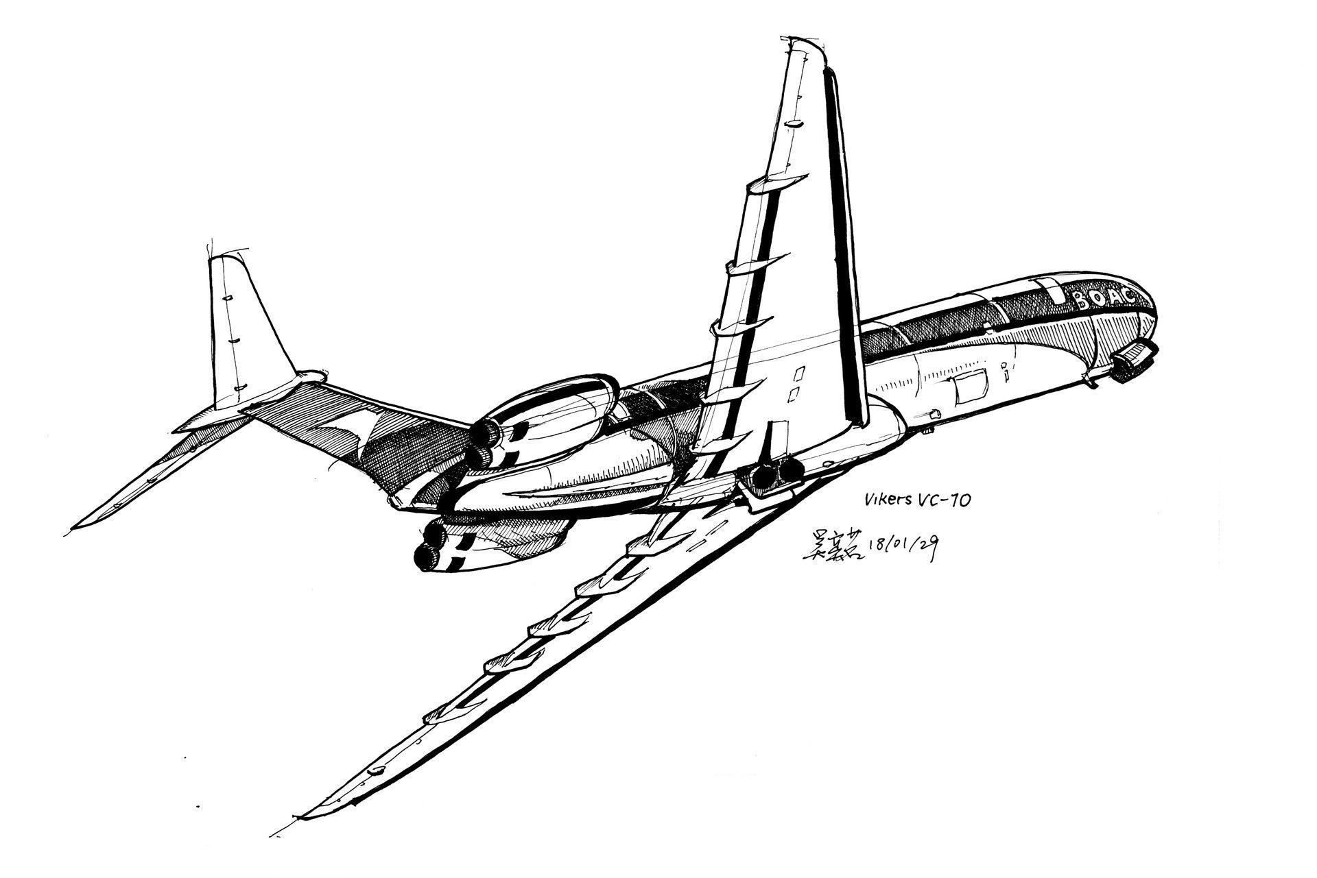 ArtStation - Aircraft Sketches, Yiming Wu | Графика ...