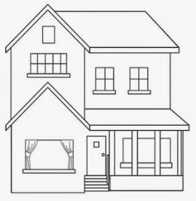 Best Home Drawing House Coloring Pages Ideas House Colouring