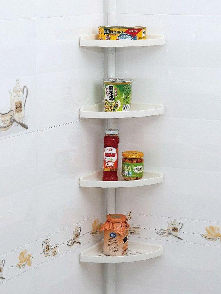 Choosing The Best Bathroom Corner Shelf Dengan Gambar