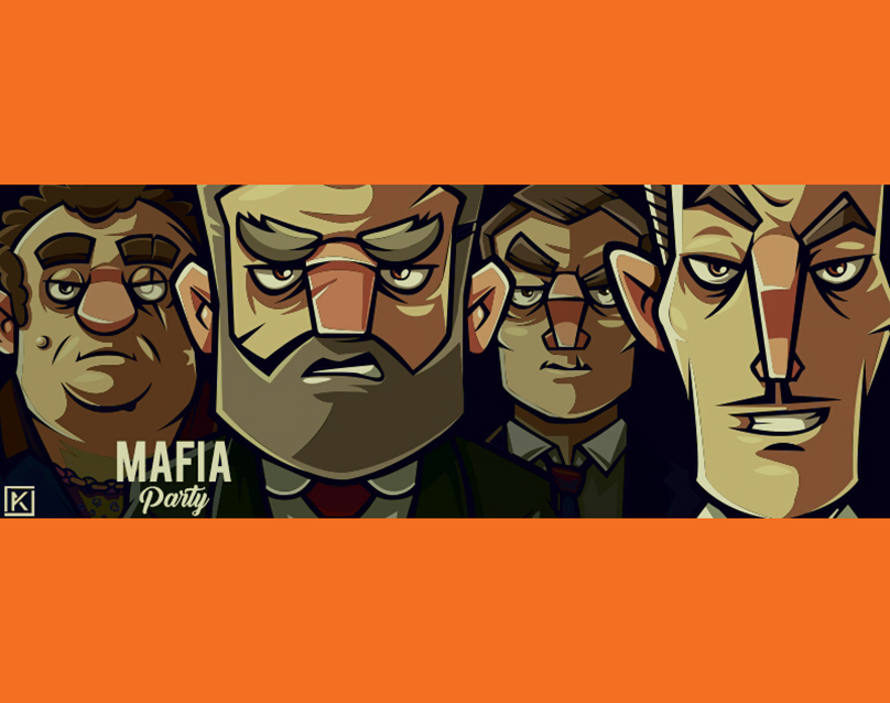 """Check out this Behance project """"Mafia Party"""" https//www"""