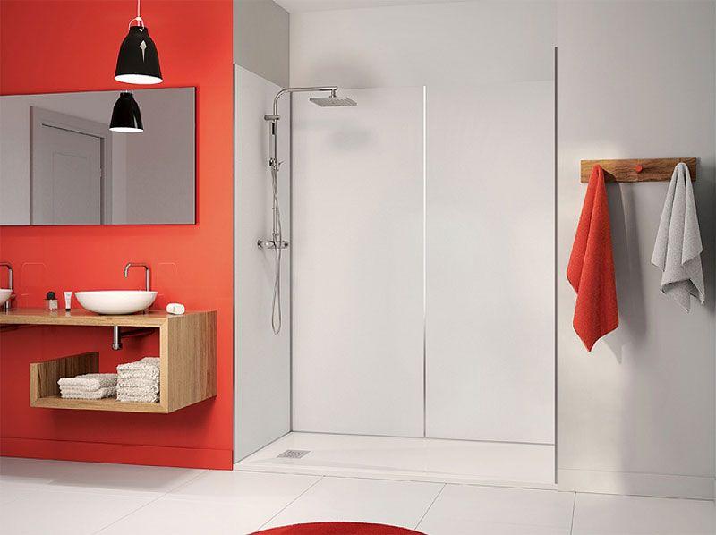 Reformar un baño sin obras ? Paneles de ducha Kinewall | Panel ...