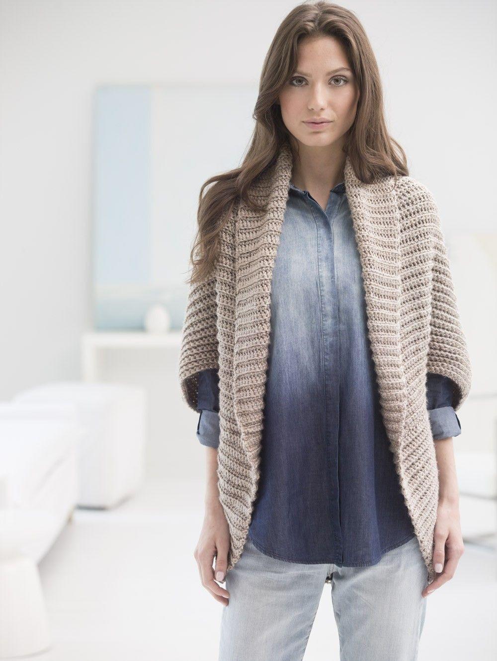 Crochet Kit - Canyon Shrug