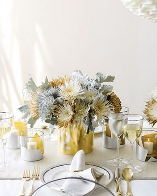 Pretty Little Things In The Details Silver And Gold Wedding Floral Centerpieces White Wedding Centerpieces Wedding Centerpieces