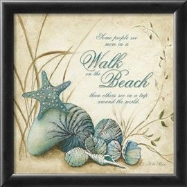 The Beach Prints by Charlene Olson - at AllPosters.com.au
