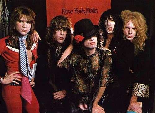 New York Dolls   GlamPunk   Hair metal bands, 80s hair metal